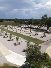 The RV sites of Gator Grounds!