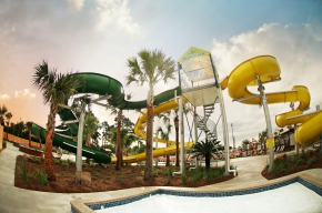 The slides of Gator Grounds