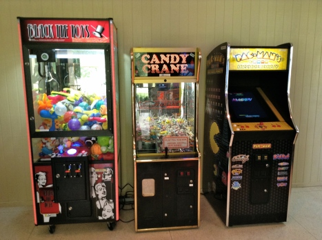 A few of our arcade games