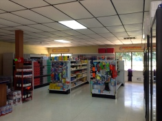 Convenience store with all your camping needs!